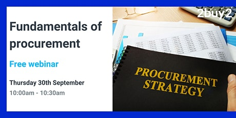 Fundamentals of Procurement tickets