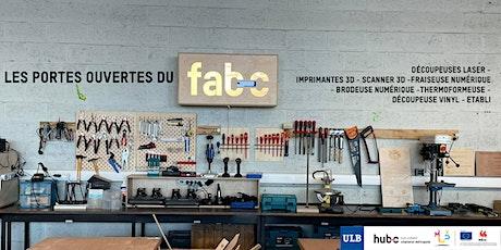 Portes Ouvertes du Fab-C, Fablab Charleroi Métropole billets