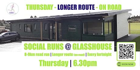 THURSDAY ON ROAD Social Run @ Glasshouse - 11th November 2021 - 6.30pm tickets