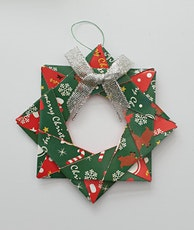 Make Christmas Decorations - Paper Stars, Origami Wreaths and Wreath Cards tickets