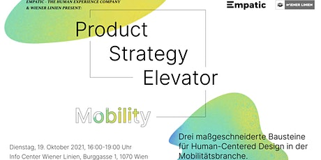 Product Strategy Elevator - Mobility tickets