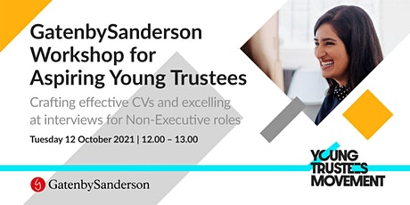 GS workshop for Young Trustees Movement tickets