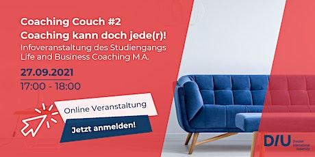 Coaching Couch #2: Coaching kann doch jede(r)! Tickets