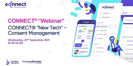 """CONNECT® """"New Tech"""" - Consent Management tickets"""