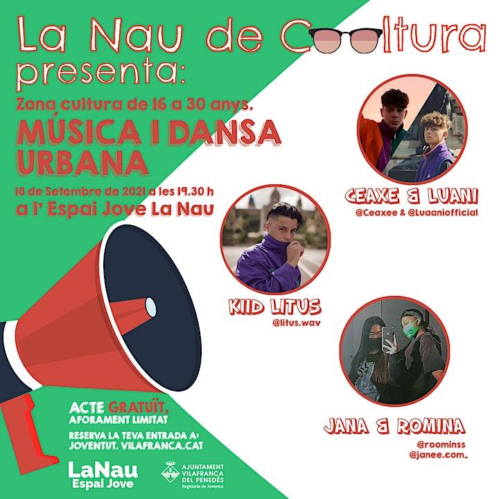 Imagen de La Nau de Cooltura - Música i dansa urbanes