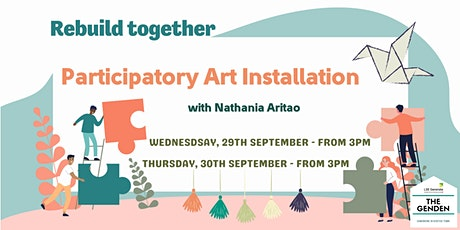 Welcome Week - Participatory Art Installation tickets