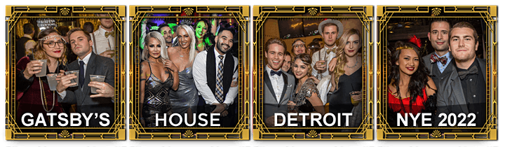 2022 Detroit New Year's Eve Party - Gatsby's House image