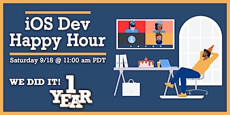 iOS Dev Happy Hour: One Year Anniversary tickets