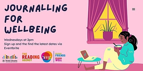 Reading Friends:  Journaling for Wellbeing tickets