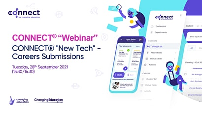 """CONNECT® """"New Tech"""" - Careers Submissions tickets"""