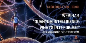 Peter Stefanyi webinar Quantum Intelligence: what's in...
