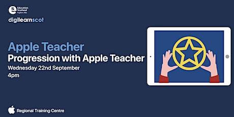 Progression with Apple Teacher tickets