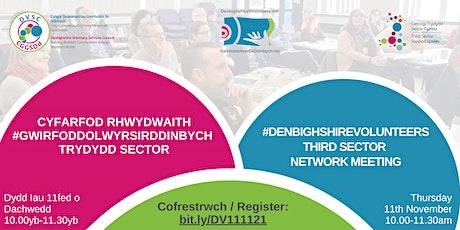 #GwirfoddolwyrSirDdinbych / #DenbighshireVolunteers Third Sector Network tickets