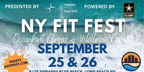 NY FIT FEST OCEANFRONT FITNESS & WELLNESS FESTIVAL tickets