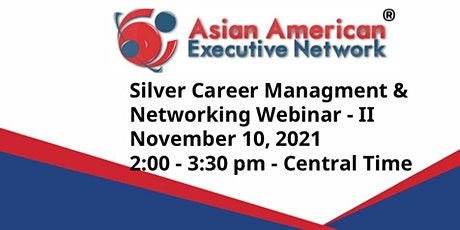 Silver Career Management Webinar & Networking - II biglietti