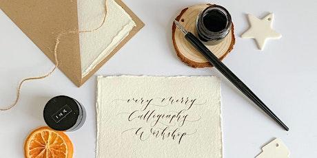 Christmas Modern Calligraphy Beginners Workshop in Battersea tickets