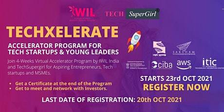 TechXelerate – An Accelerator Program for Tech Startups and Young Leaders tickets