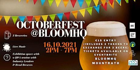Octoberfest at BloomHQ tickets