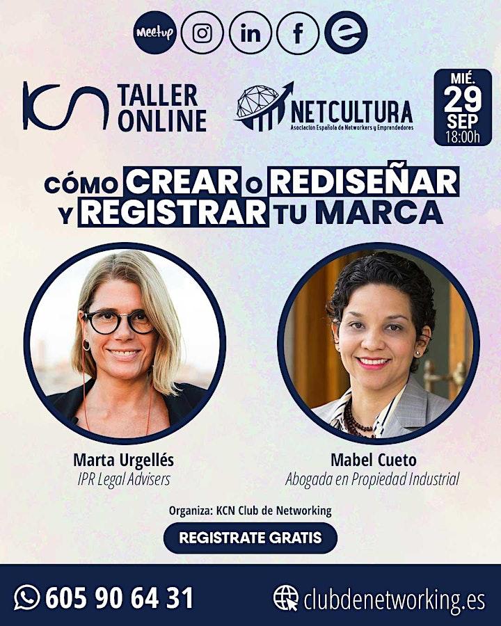 Imagen de Taller Online Como CREAR o REDISEÑAR y REGISTRAR tu MARCA