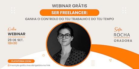 Meetup #96: Webinar Ser freelancer: controla o teu trabalho e o teu tempo ingressos
