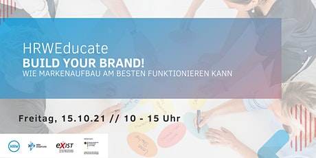 HRWEducate: Build your brand! tickets