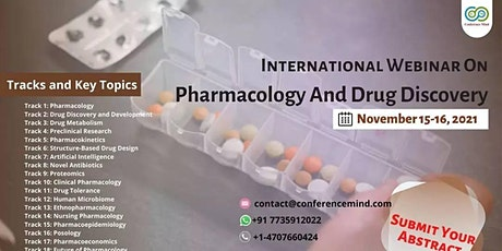 Global Webinar On Pharmacology And Drug Discovery tickets