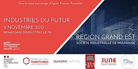 Transformation INDUSTRIES DU FUTUR en Région GRAND EST billets