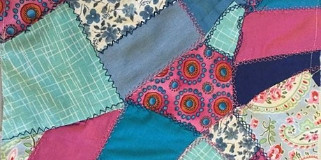 Creative Crazy Patchwork: An Introduction with artist Ingrid Bale tickets