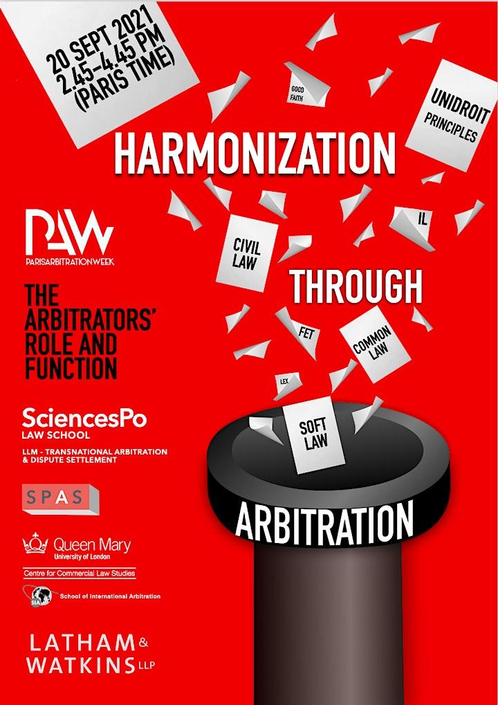 Harmonization through Arbitration: the Arbitrators' Role and Function image
