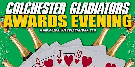 Colchester Gladiators 2021 Awards & Casino Night tickets