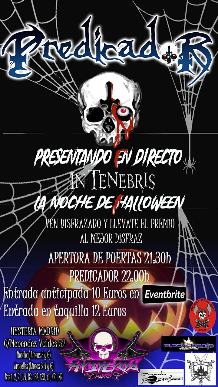 """Imagen de PREDICADOR presentación de """"In Tenebris"""""""
