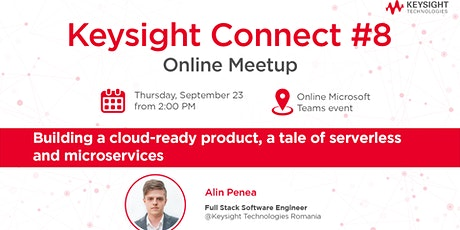Building a Cloud-Ready Product - A Tale of Serverless & Microservices tickets