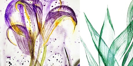 Learn Watercolour Transparency- Calla Lily & Leaves Workshop tickets
