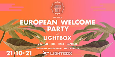 European Nights Welcome Party tickets