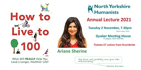How to Live to 100 - with Ariane Sherine tickets