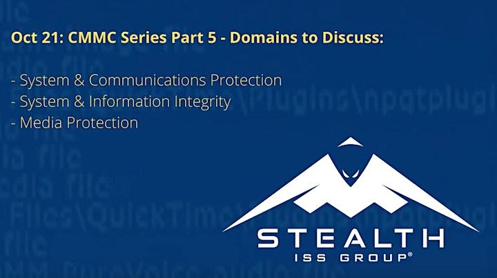 CISO Live- CMMC Webinar Series Part 5 image