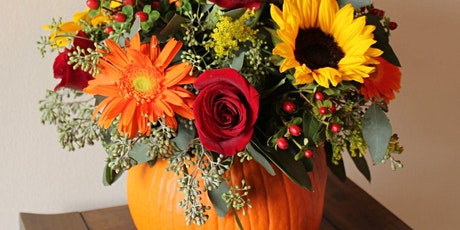 Pumpkin Flower Arrangement Workshop tickets