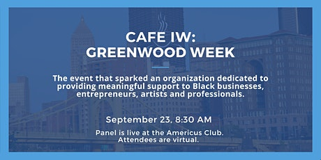 Cafe Innovation | Greenwood Week tickets