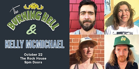 The Burning Hell & Kelly McMichael at The Rock House tickets