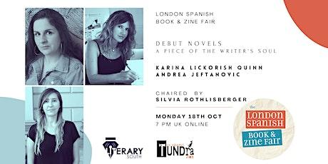 Debut novels:  Karina Lickorish Quinn and Andrea Jeftanovic tickets