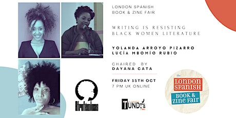 Writing is Resisting: Literature by Black Women tickets
