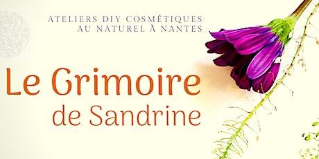 """Atelier bien-être """"Eaux florales et biphasé"""" billets"""