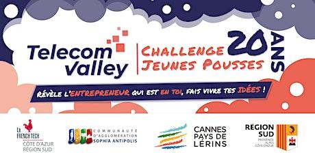 Soirée de lancement 20e édition du Challenge Jeunes Pousses -Telecom Valley billets