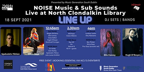 NOISE Music snd SubSounds - 16 Bars tickets