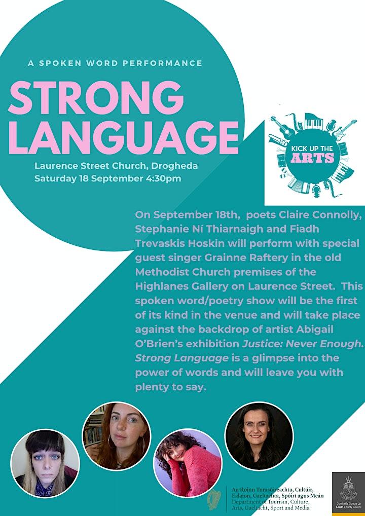 Strong Language - Kick Up The Arts image