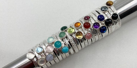Jewellery Design: Silver Stacking Rings tickets