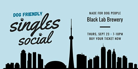 Singles Social For Dog Lovers tickets