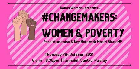 #ChangeMakers: Women & Poverty tickets