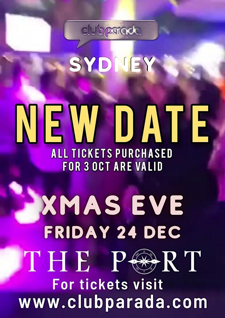 Club Parada Sydney Friday 24 Dec image