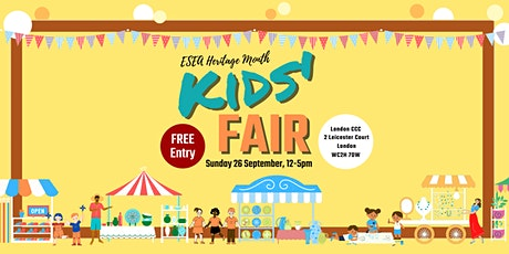 Kids' Fair: East and Southeast Asian Heritage Month tickets